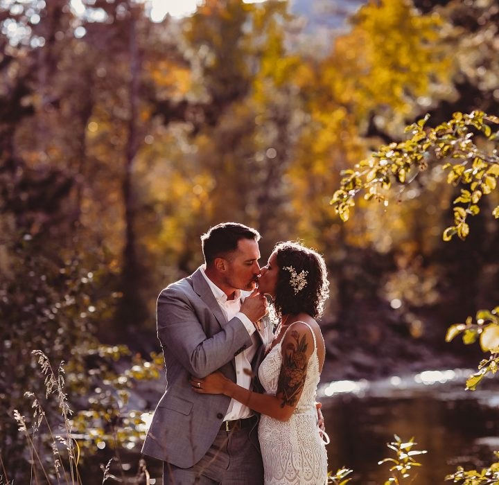 The Landing at Estes Park Golden Fall Wedding