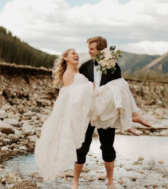 Magical Mountaintop Aspen Elopement