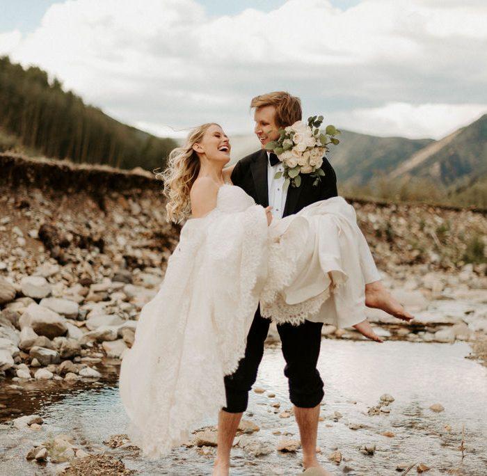 Magical Mountaintop Aspen Elopement