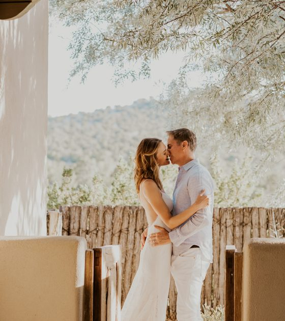 Peaceful Santa Fe Desert Elopement