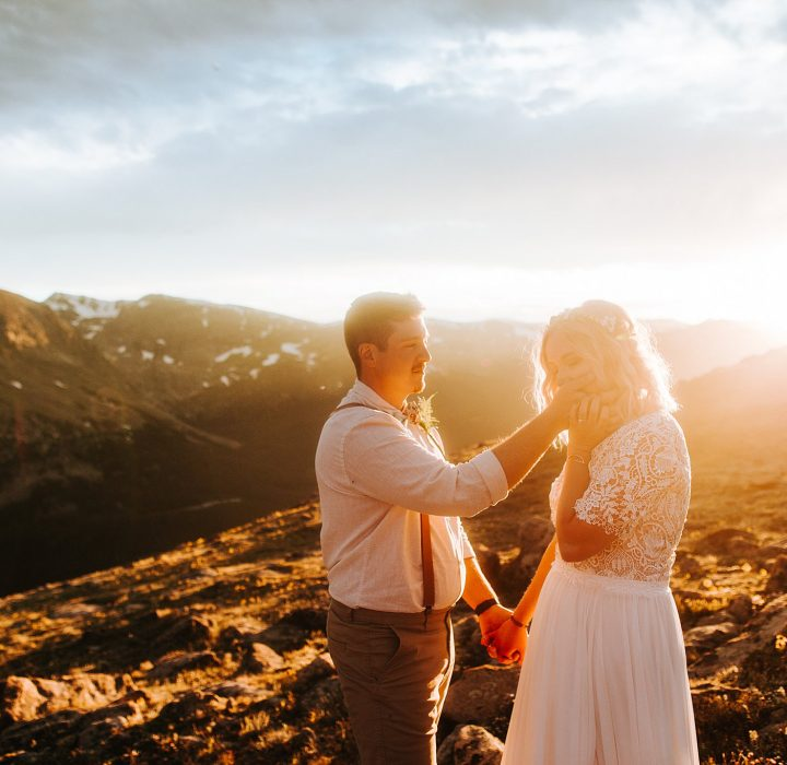 Relaxed and Intimate Rocky Mountain National Park Elopement