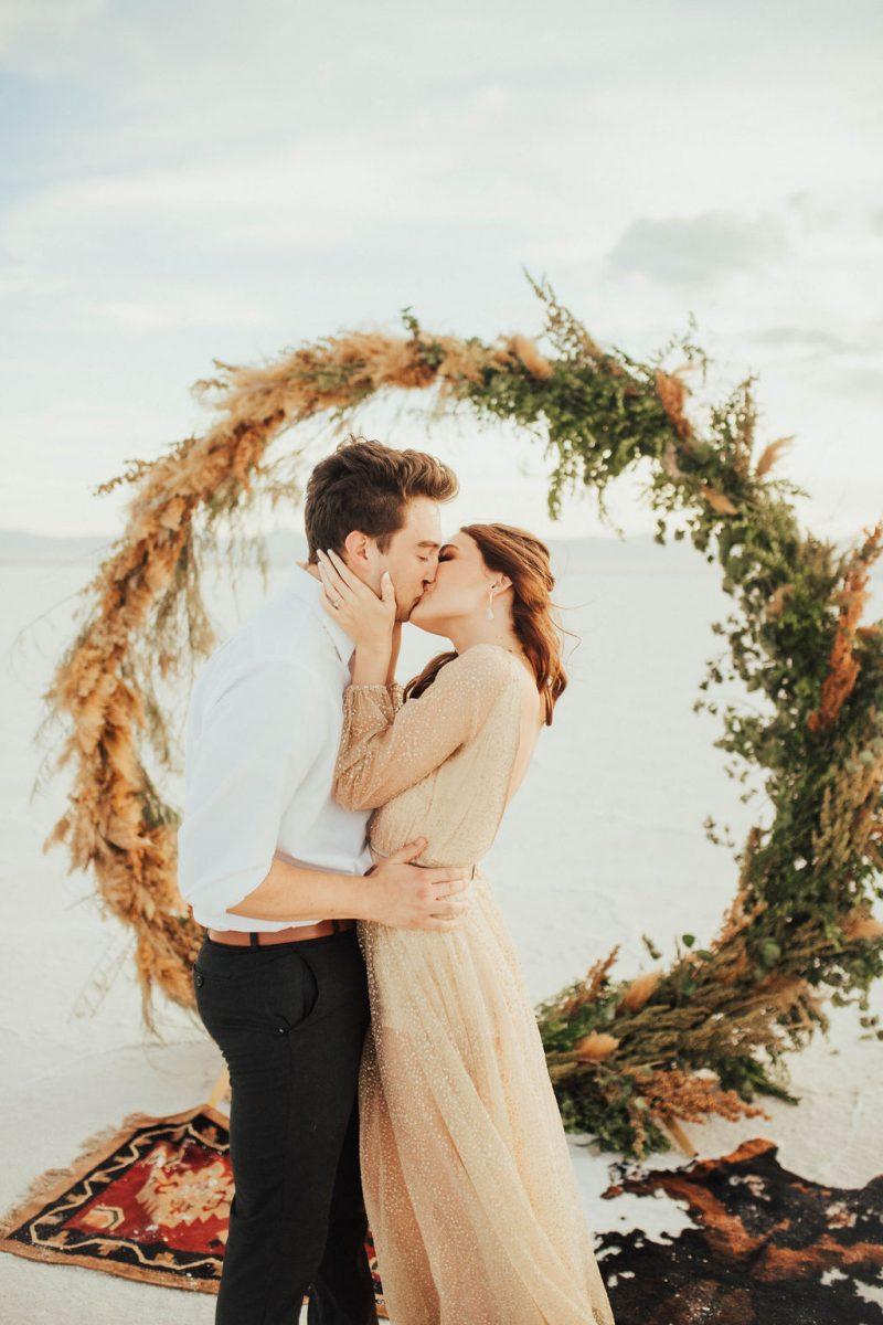 Rustic Romantic Salt Flats Bridals Inspiration