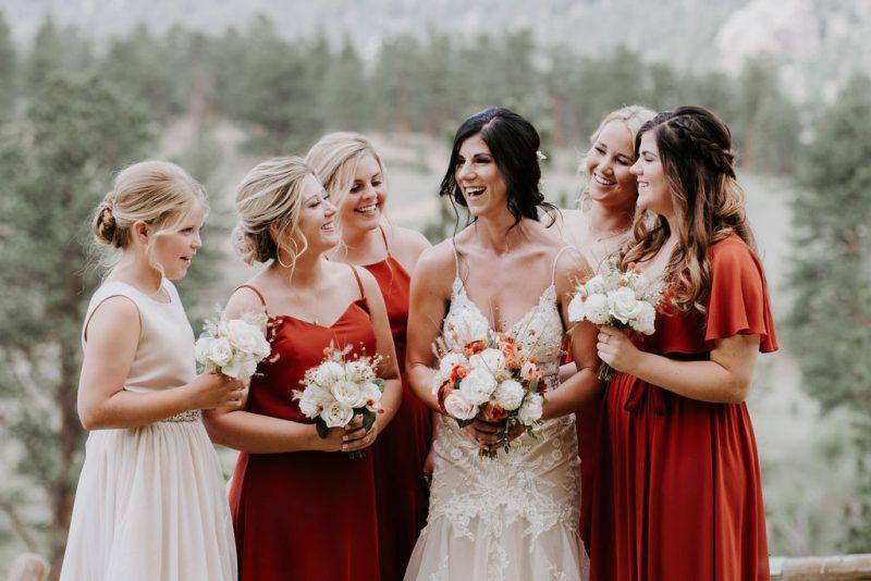 Rustic and Simple Black Canyon Inn Wedding