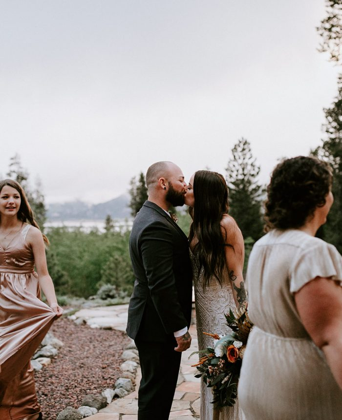Sweet and Emotional Elopement at the Wolf Den
