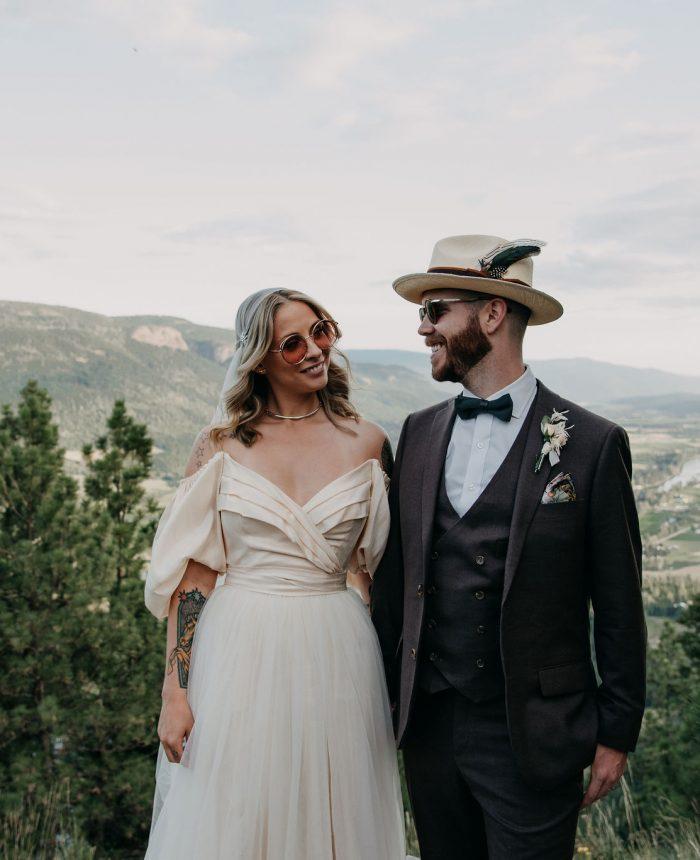 Wooded Intimate Wedding at Tin Poppy Retreat