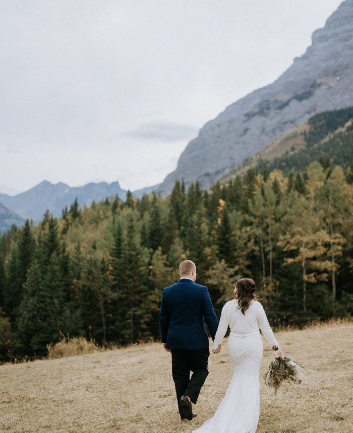Carefree Alberta Mountain Elopement