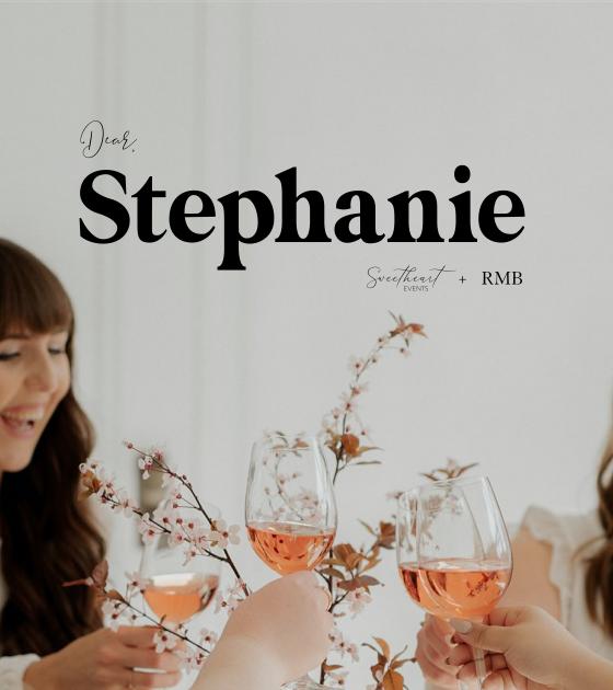 Meet Dear Stephanie