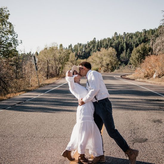 Earthy and Organic Elopement Inspiration