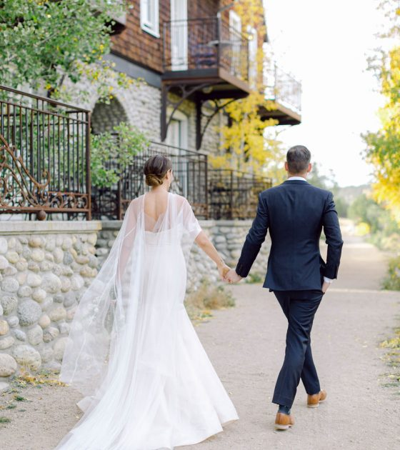 Elegant and Picturesque Surf Chateau Wedding