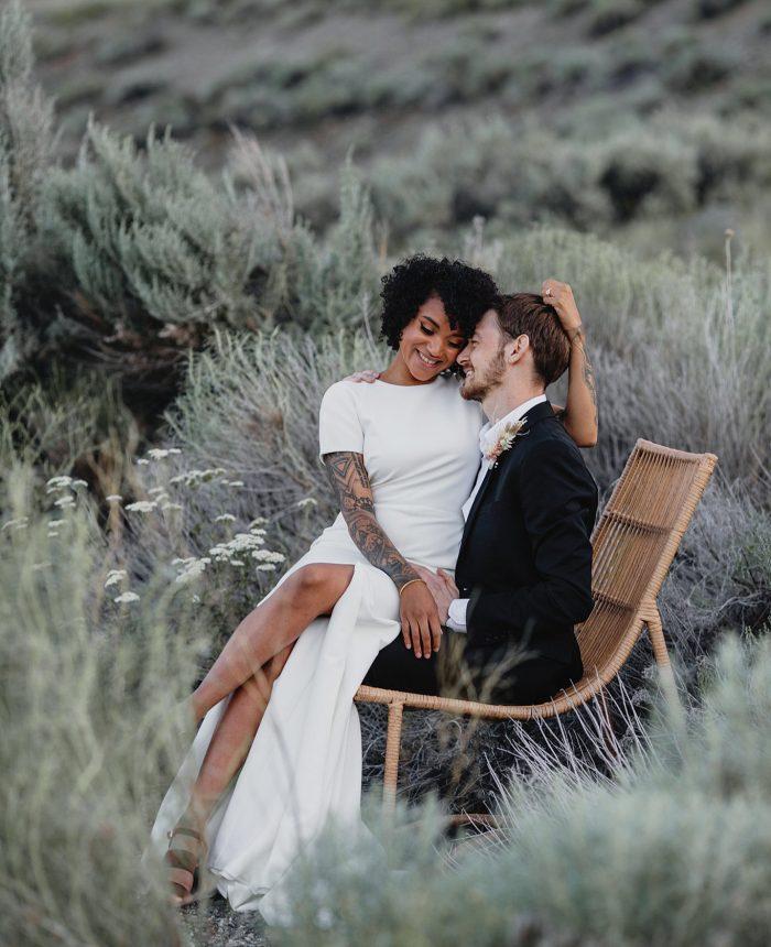 Modern and Luminous Okanagan Elopement Inspiration