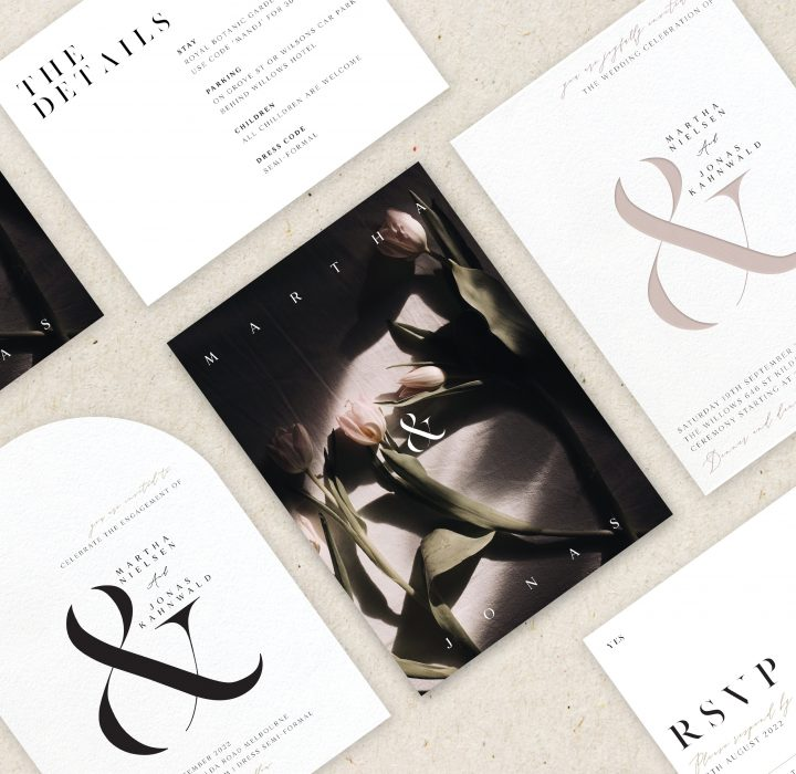 Announce your I Do Date with Save the Dates from Paperlust