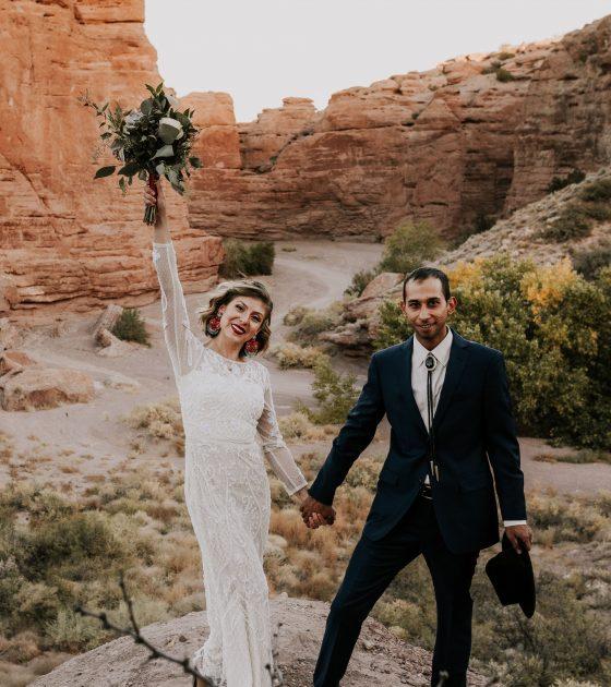 Simple Southwestern Bridals