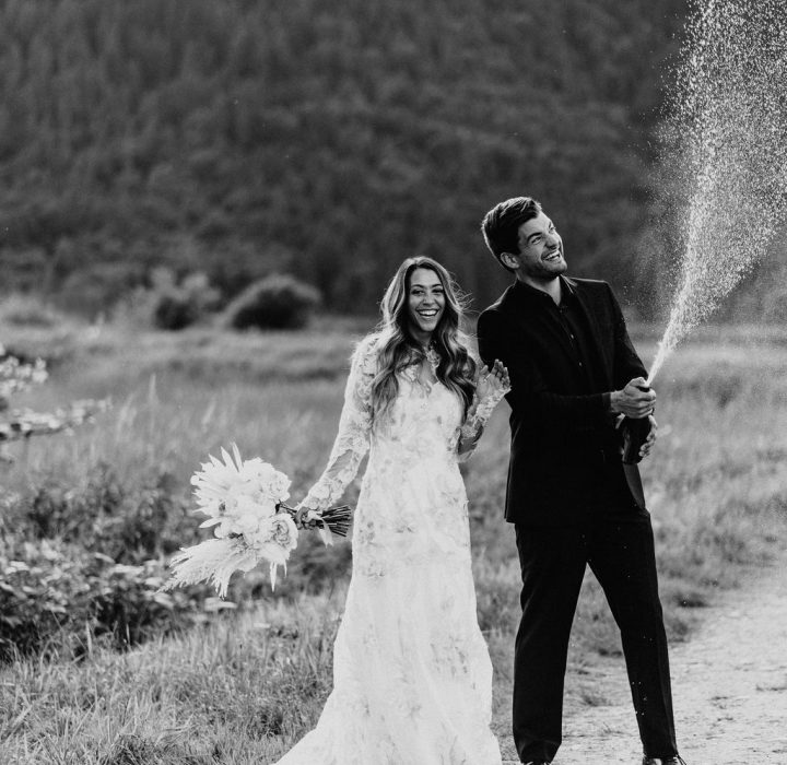 Simple Yet Elegant Pitt Lake Elopement Inspiration