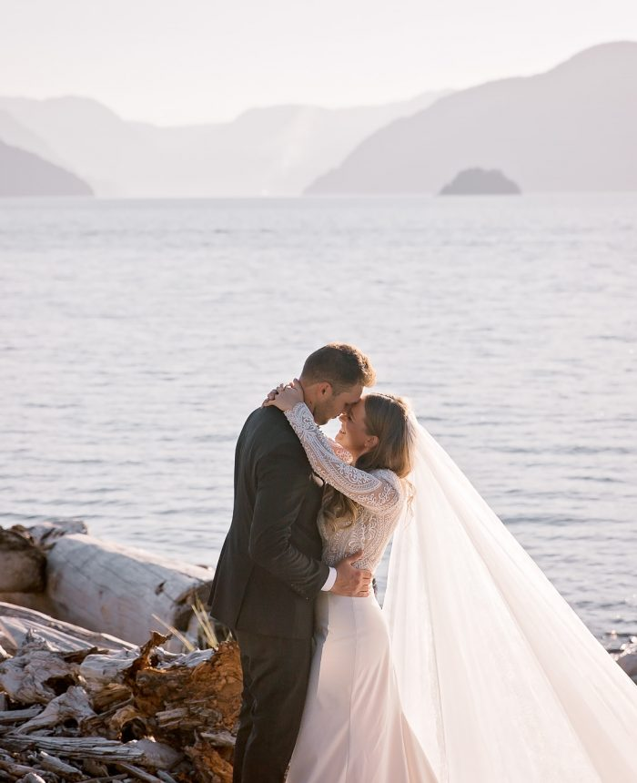 Affectionate and Warm Squamish Bridals