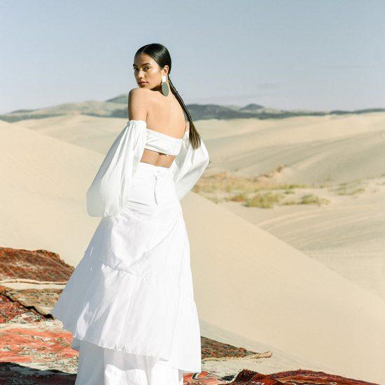 Bohemian Desert Bridal Fashion Inspiration
