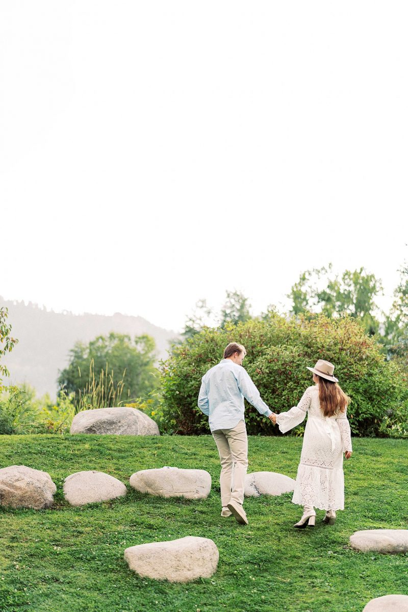 Bright Spring Aspen Engagement