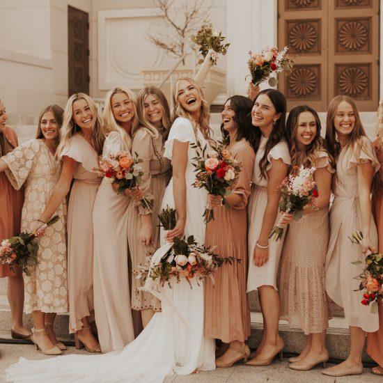 Recreating Mismatched Bridesmaids Looks | Pt. 3