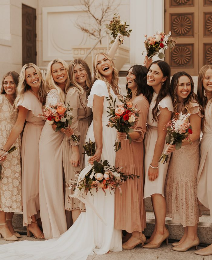 Recreating Mismatched Bridesmaids Looks | Pt. 3