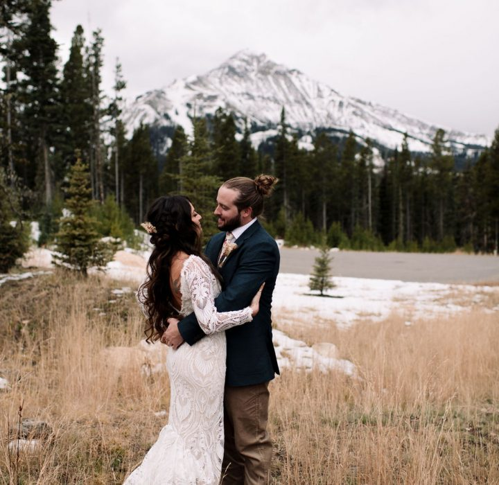 Darling Marion Winter Elopement