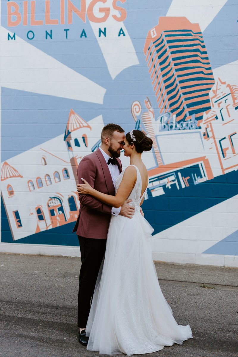 Elegant and Ethereal Billings Wedding