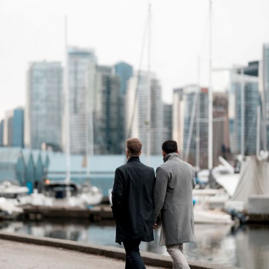 Emotional Waterfront Vancouver Elopement