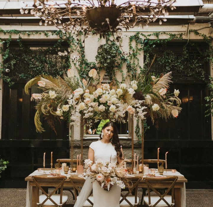 Glamorous and Romantic Elopement Inspiration