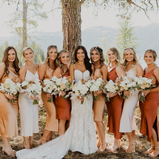 Recreating 5 Trending Mismatched Bridesmaids Looks