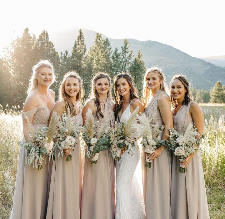 Modern Mountain Wedding at White Raven