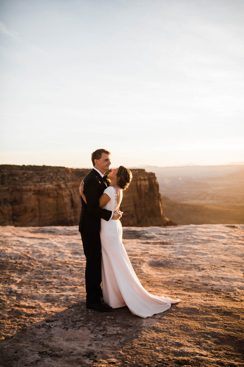 Private and Magical Moab Desert Elopement