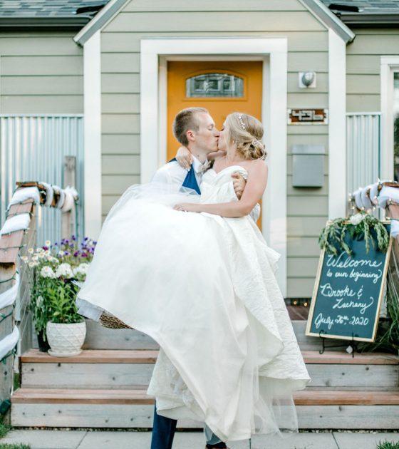 Romantic Beartooth Pass Wedding