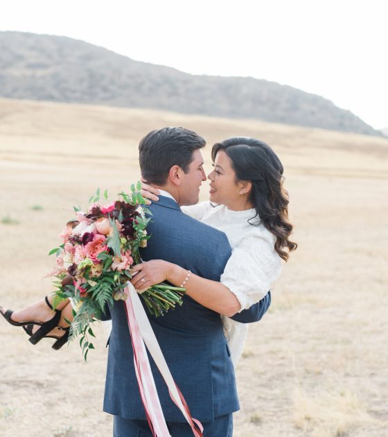 How to Achieve a Subtle Theme in an Elopement