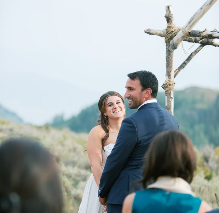 Romantic Mountain-Top Park City Elopement