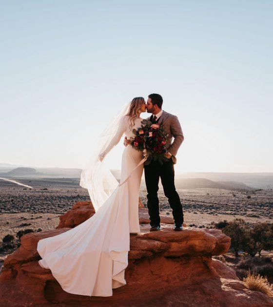 Rustic La Sal Mountains Bridals