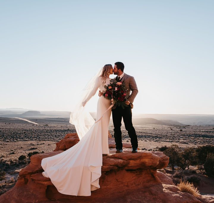 Rustic La Sal Mountains Bridals