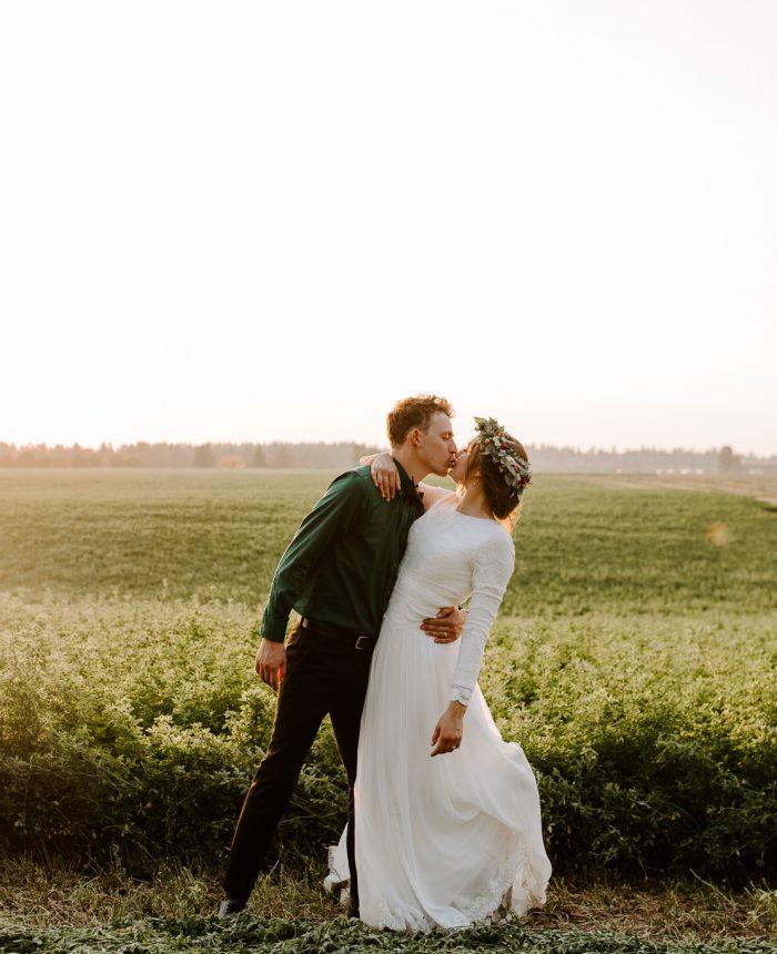 Joyful Backyard Coeur d'Alene Wedding