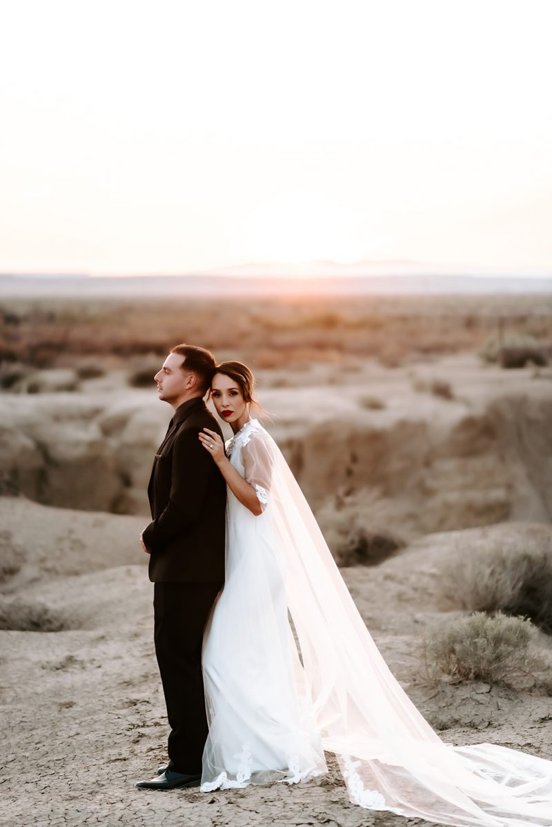 Powerful and Bold Albuquerque Elopement Inspiration