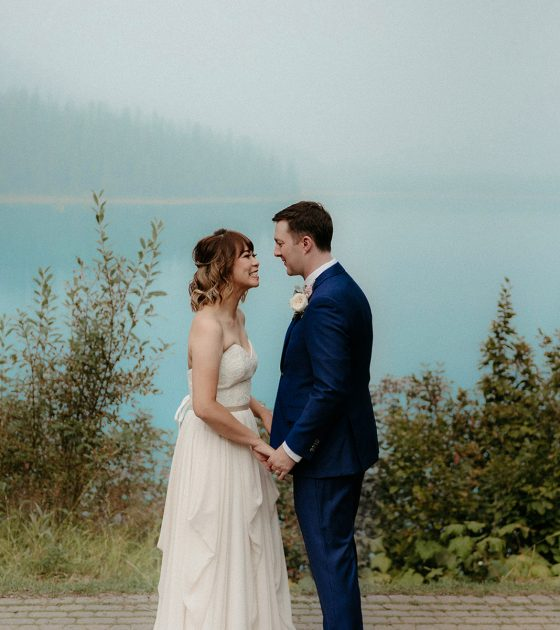 Intimate and Carefree Emerald Lake Lodge Elopement