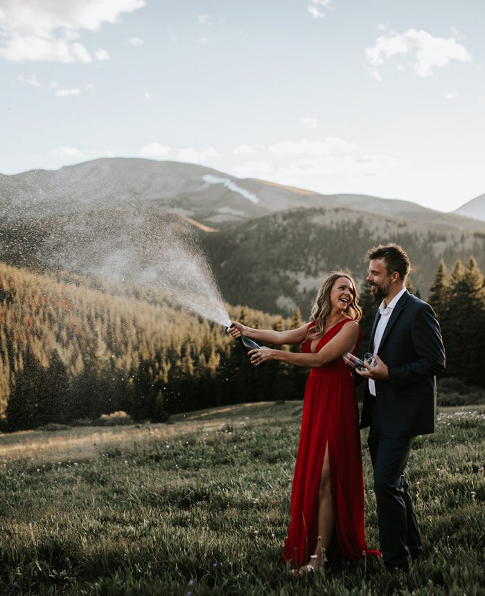 Charming Breckenridge Engagement