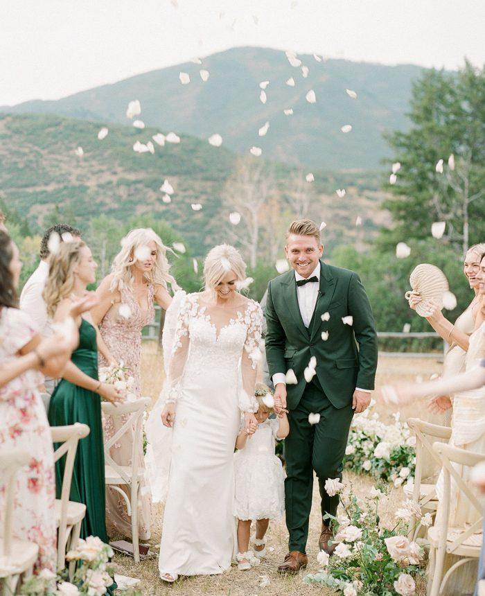 Dreamy Blue Sky Ranch Wedding
