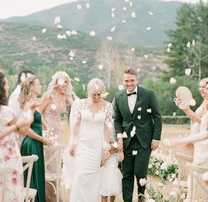Dreamy Blue Sky Ranch Wedding