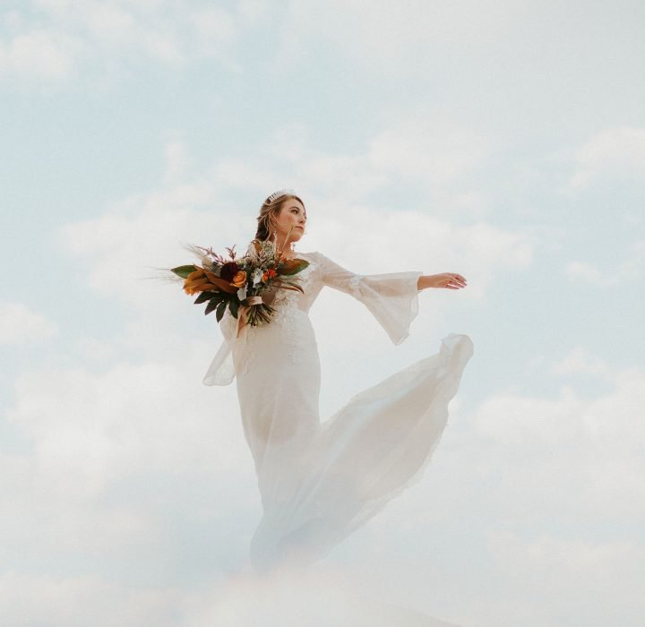 Dreamy Pastel Paint Mines Bridal Inspiration