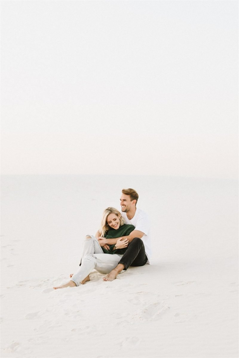 Dreamy White Sands National Monument Engagement