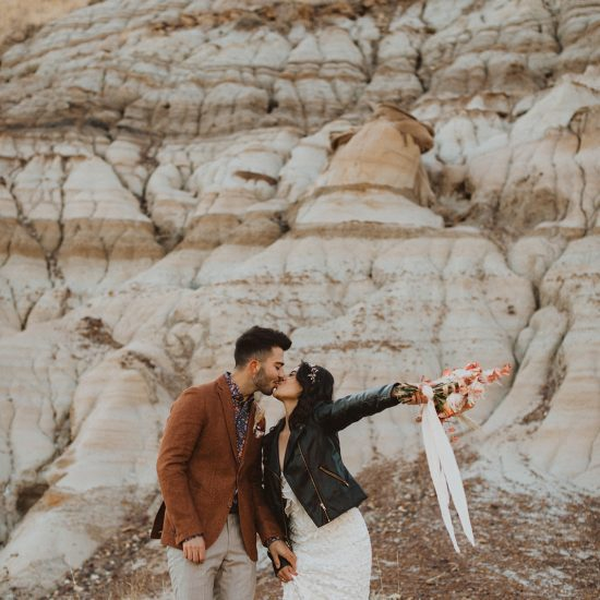 Earthy and Vintage Elopement Inspiration