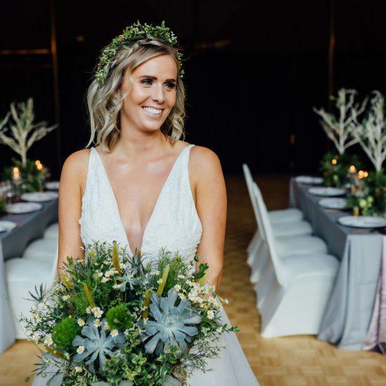 Enchanted Forest Wedding Inspiration at Canyon Ski Resort