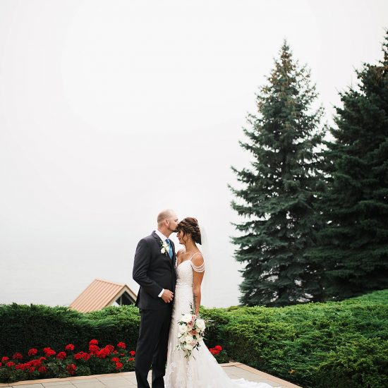 Charming Lakeside Idaho Wedding