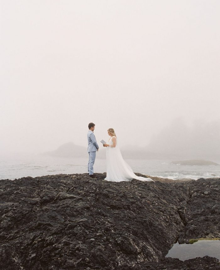 Misty Picturesque Tofino Elopement Inspiration