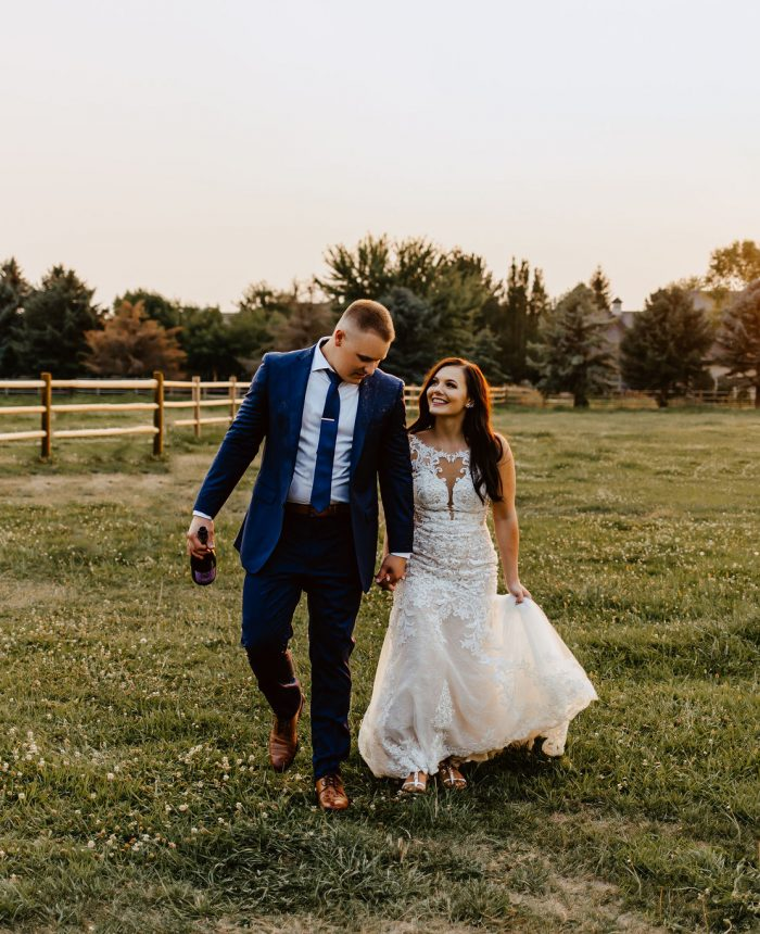 Sweet and Emotional Eagle Wedding