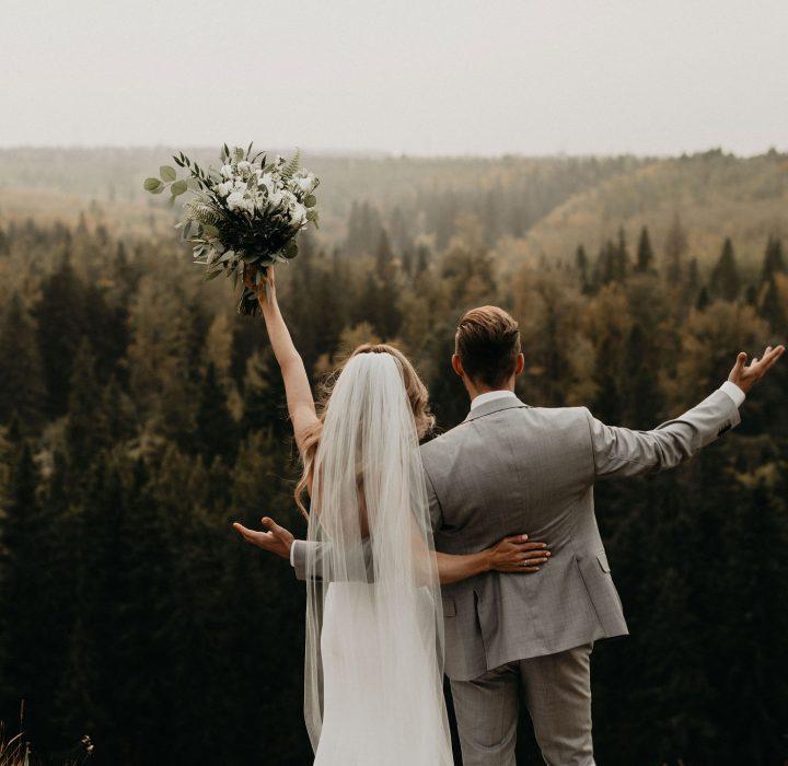 Timeless and Natural Edmonton Wedding