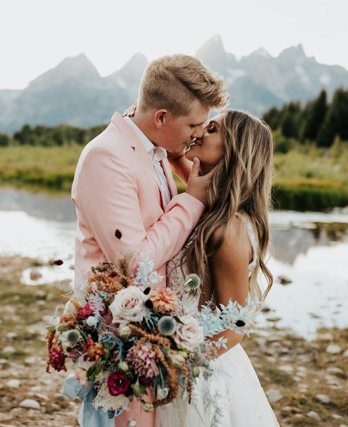 Sweet Stylish Elopement Inspiration at Grand Teton National Park