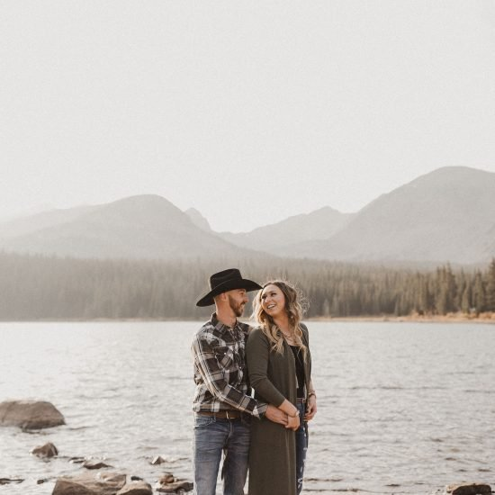 Playful and Affectionate Colorado Engagement